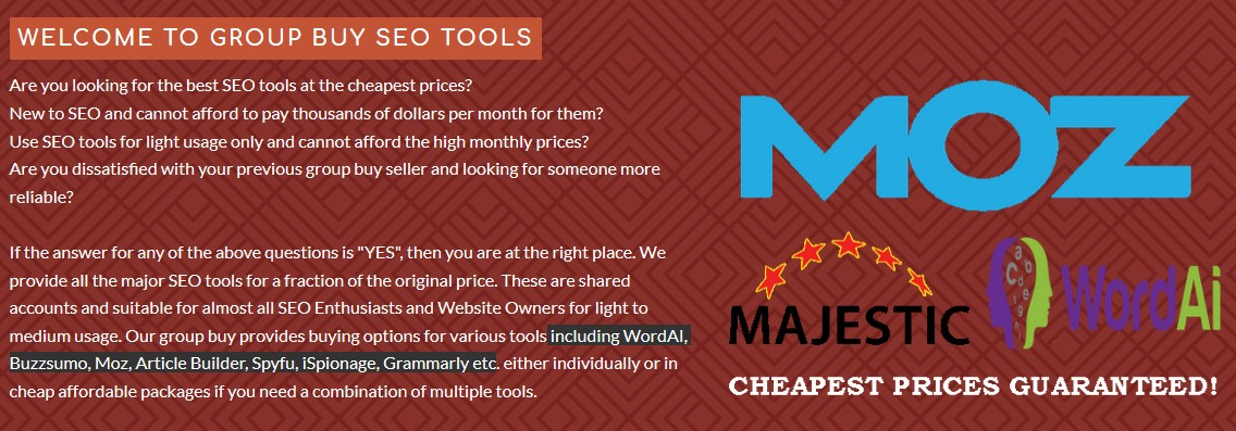 5 Best SEO Tools Group Buy